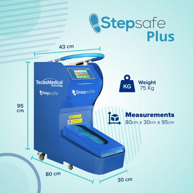 StepSafe Plus - Automatic Shoe Cover Dispenser