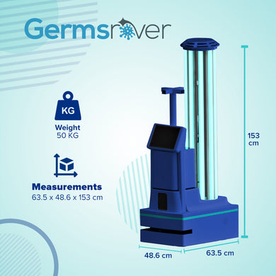 GermsRover Autonomous UV and Disinfection Vehicle