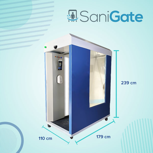 SaniGate - Mobile Thermometry Disinfection Channel (ONLY LEASING)