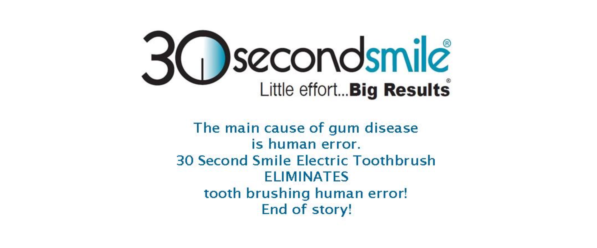 Brush your gums; save your teeth and your health! A report from the United States Centers