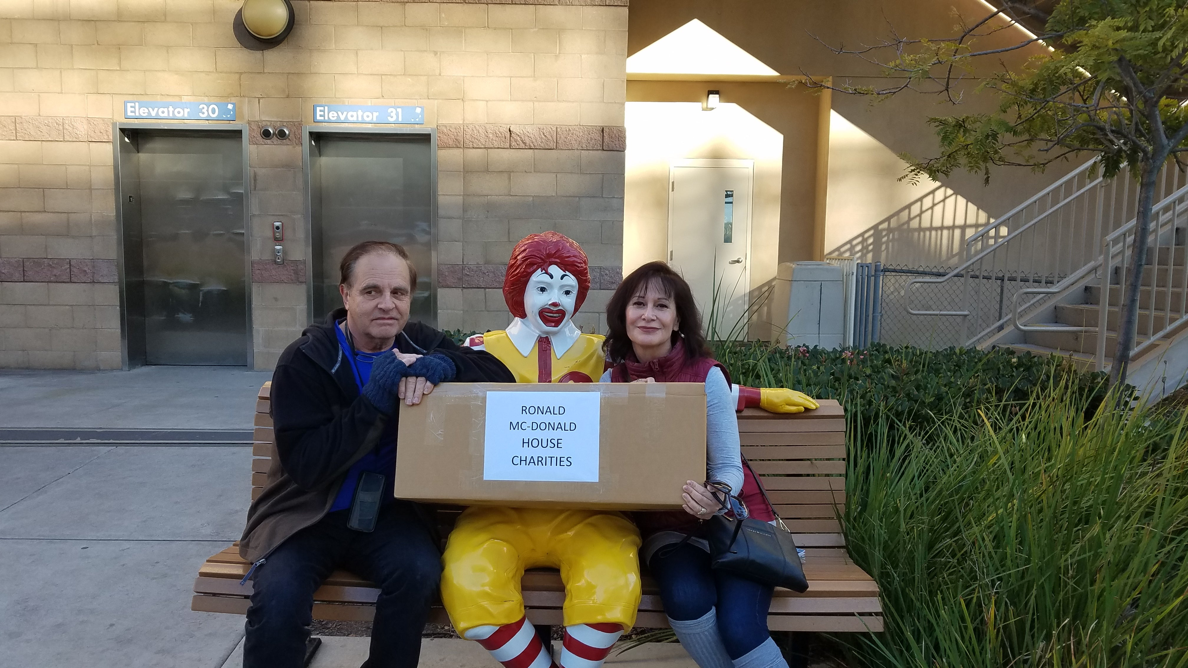 Donation to Ronald McDonald House Charities of San Diego