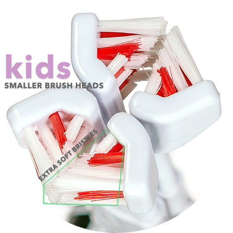 Kid's Extra Soft Replacement Brush Heads