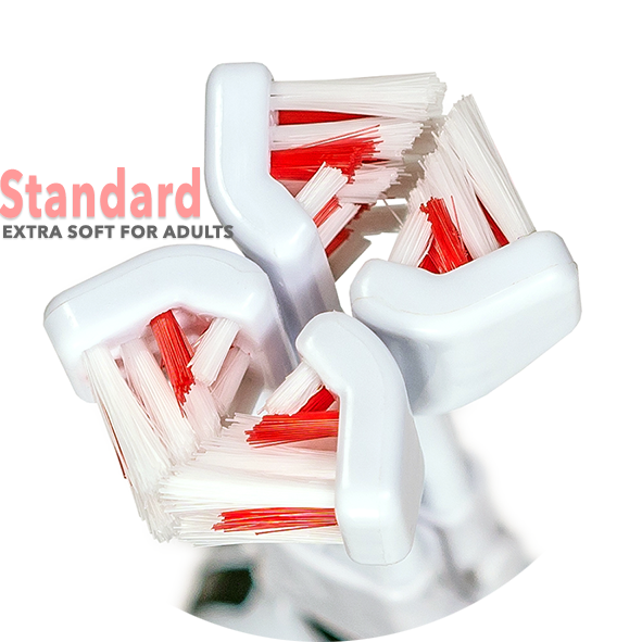 30 Second Smile Standard Ultra Soft Replacement Brush Head