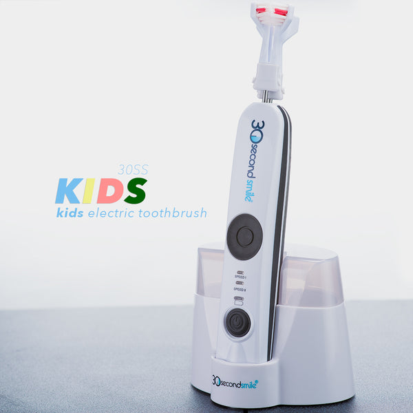 30 Second Smile KIDS Electric Rechargeable Toothbrush or for Adults with Small Mouths