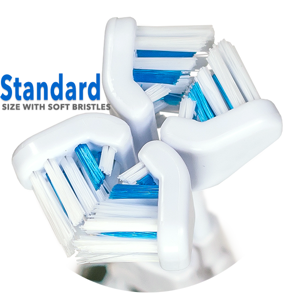 30 Second Smile Standard Soft Replacement Brush Heads