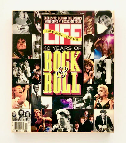 LIFE MAGAZINE 1992 - 40 Years of Rock & Roll