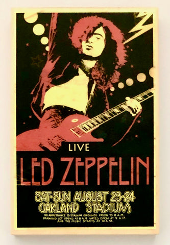 LED ZEPPELIN - Oakland Stadium