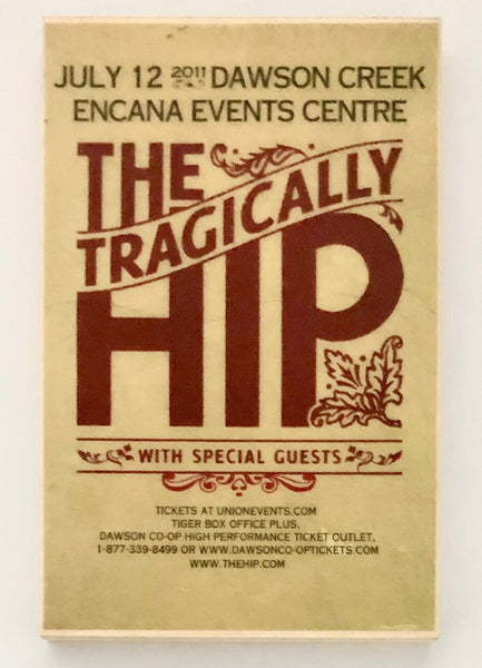 THE TRAGICALLY HIP - Dawson Creek