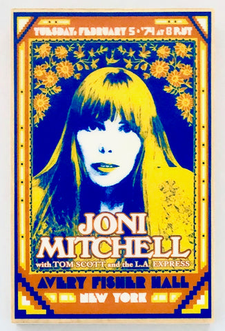 JONI MITCHELL - Avery Fisher Hall