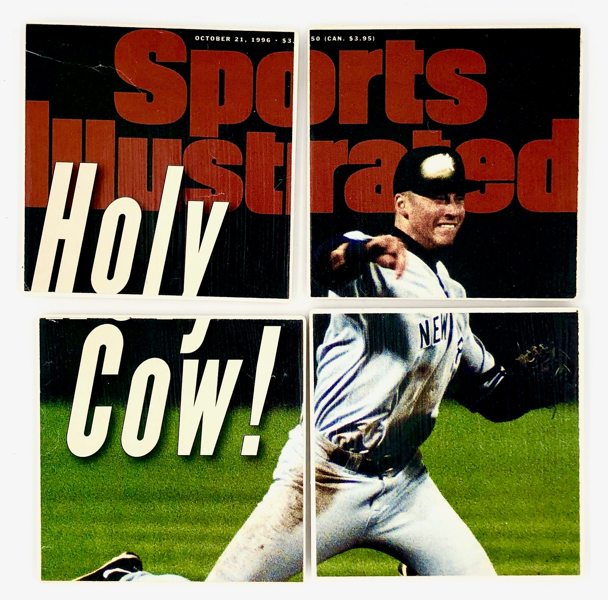COASTERS - Derek Jeter Sports Illustrated 1996