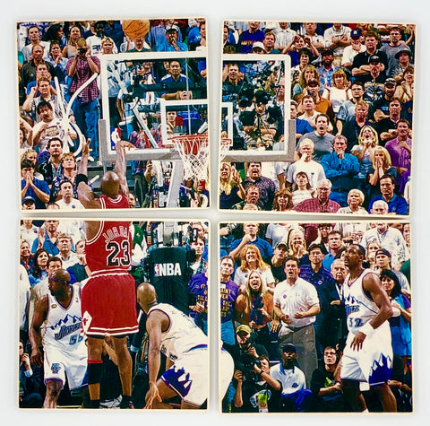 COASTERS - Michael Jordan the last shot 1998