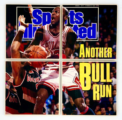 COASTERS - Michael Jordan Sports Illustrated 1990