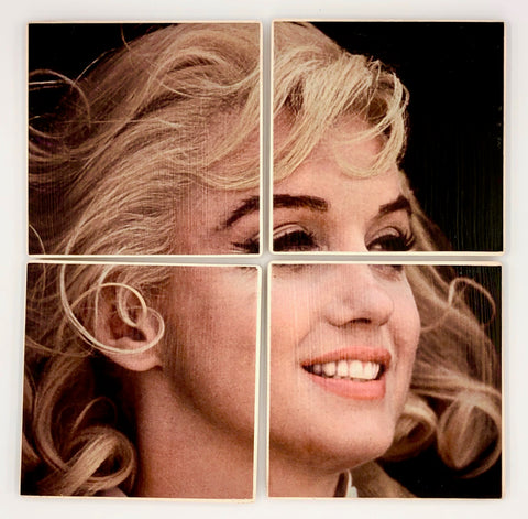 COASTERS - Marilyn Monroe in colour