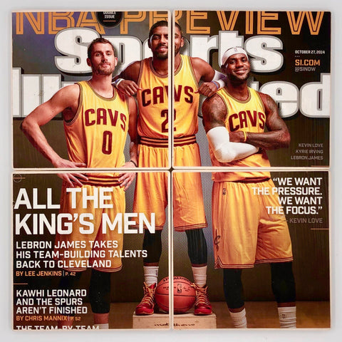 COASTERS - LeBron James, Kevin Love, Kyrie Irving