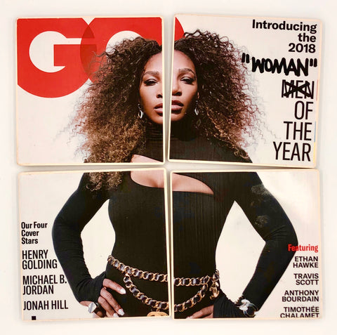 COASTERS - Serena Williams GQ