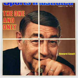 COASTERS - Howard Cosell Sports Illustrated 1983