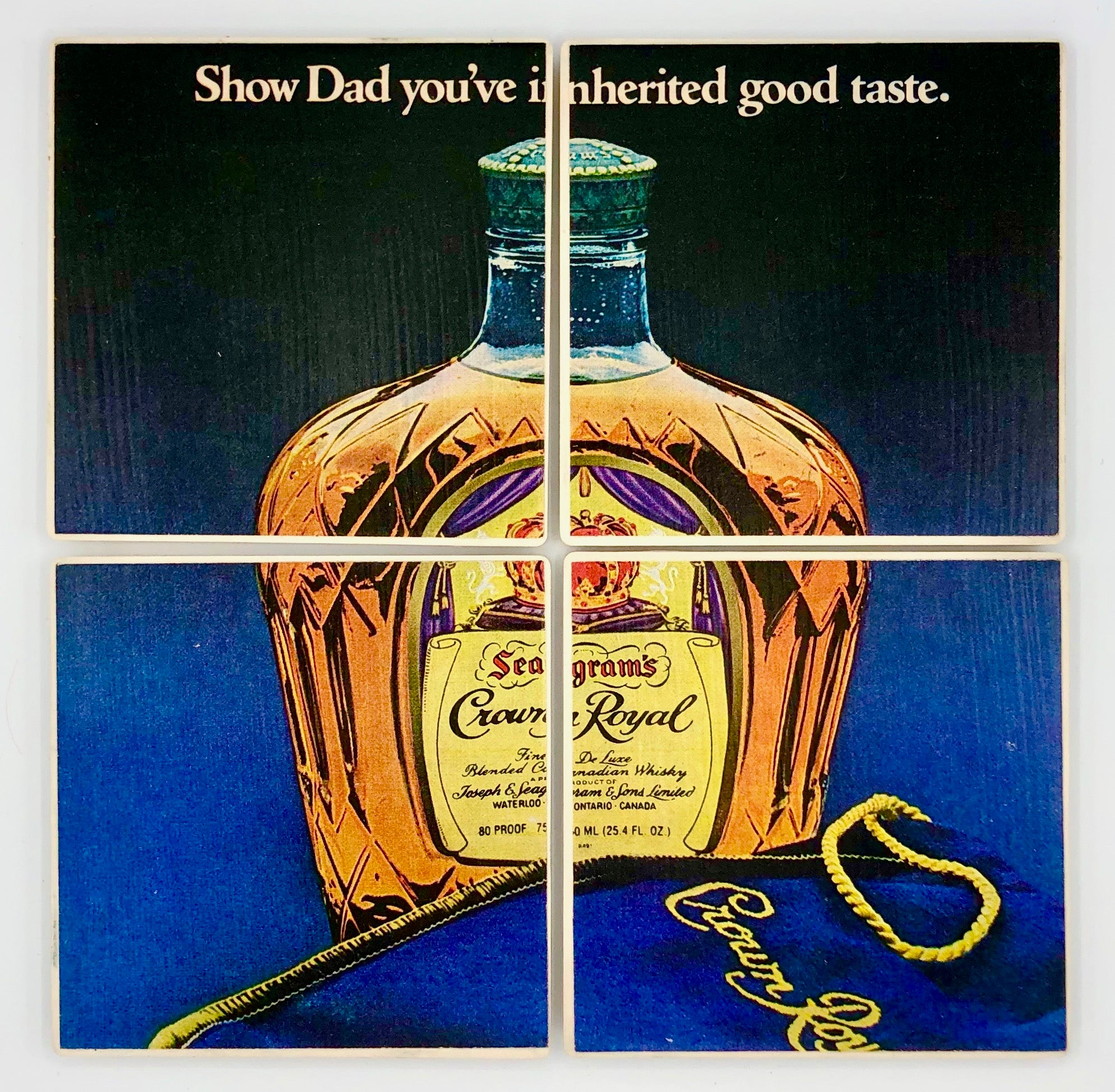 COASTERS - Crown Royal (show dad)