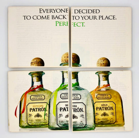 COASTERS - Patron (everyone decided)