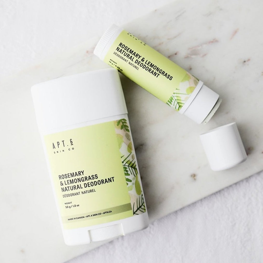 Rosemary + Lemongrass Deodorant