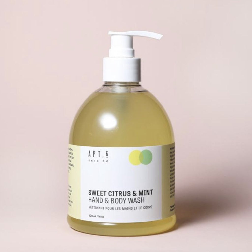 Sweet Citrus + Mint Hand/Body Wash