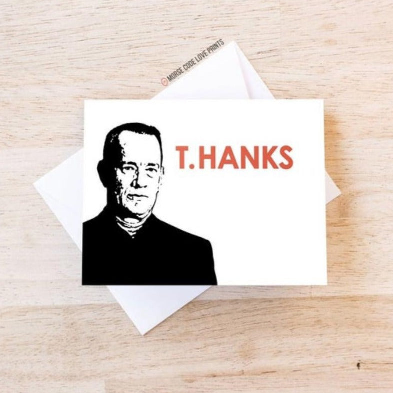 Tom Hanks Thank You Card