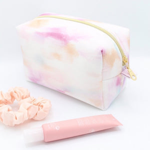 Tie-Dye Makeup Bag