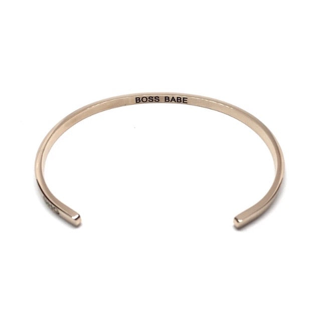 BOSS BABE Bracelet Rose Gold