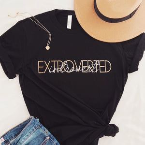 Extroverted Introvert T-shirt