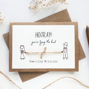 'Congrats on Tying the Knot' Card