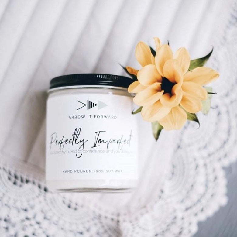 Perfectly Imperfect Soy Candle (8oz)