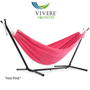 9ft Polyester Hammock with Stand