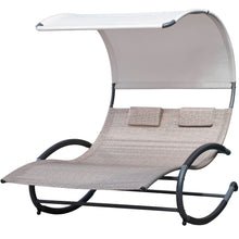 Load image into Gallery viewer, Double Chaise Rocker - Steel