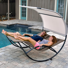 Load image into Gallery viewer, Double Chaise Rocker - Aluminum