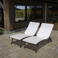 Load image into Gallery viewer, Clearwater 6 Position Aluminum Lounger 2 pc Set