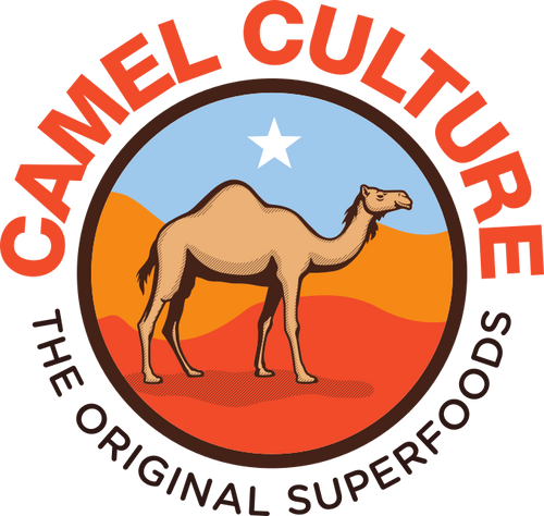 The camel culture logo