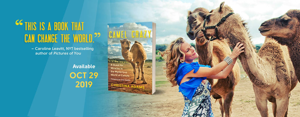 Camel Crazy, written by author Christian Adams, is about the connections between camel milk and autism.
