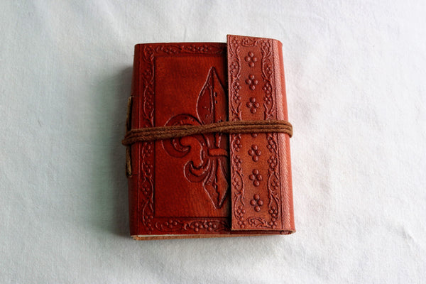 Brown Leather Journal (small)