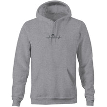 "Load image into Gallery viewer, ""RV There Yet?"" Heartbeat Pocket Hoodie"