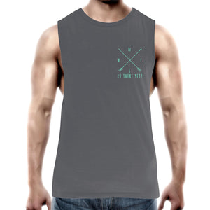 """RV There Yet?"" Compass Arrow Mens Tank Top"