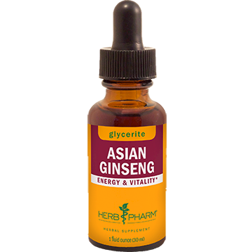 Asian Ginseng Alcohol Free 1oz