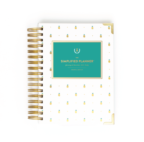 THE 2016 SIMPLIFIED PLANNER (multiple colors)