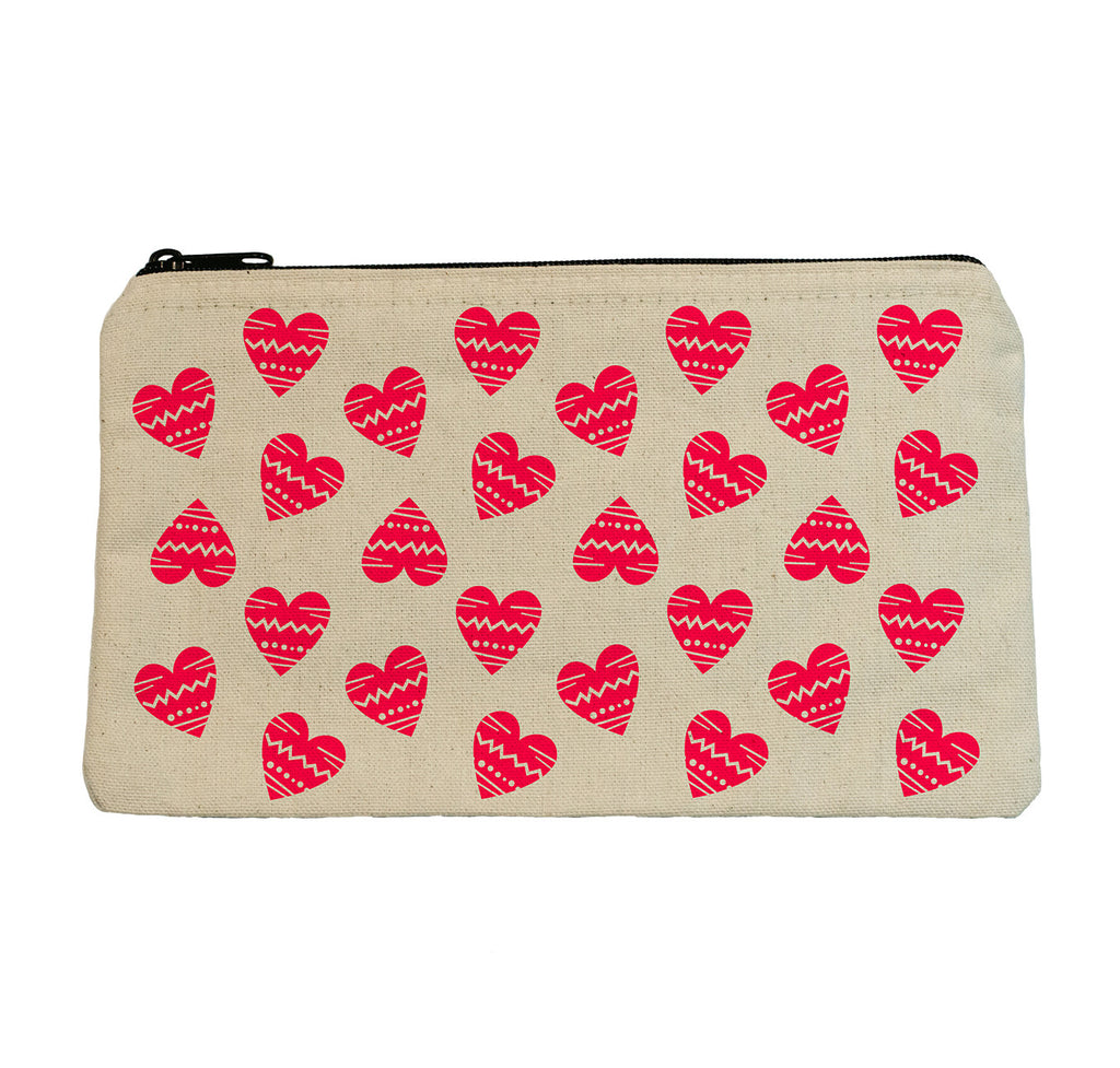 NEON HEARTS POUCH