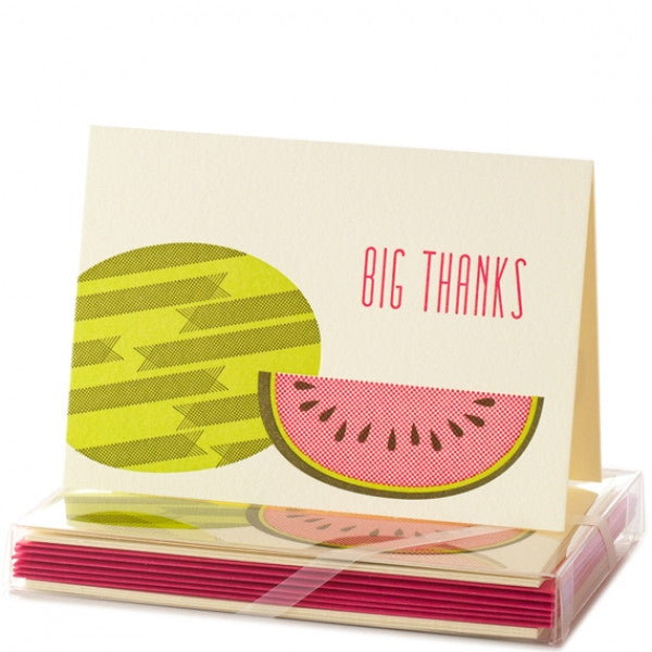 WATERMELON NOTECARD SET