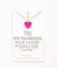 SUPERCUTE HEART NECKLACE