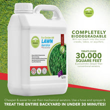 Load image into Gallery viewer, Eco Garden PRO Lawn Aerator - Loosener for Compact Soil Aeration | Replace Manual Aeration - 1 Quart