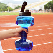 Dumbbell Fitness Water Bottle