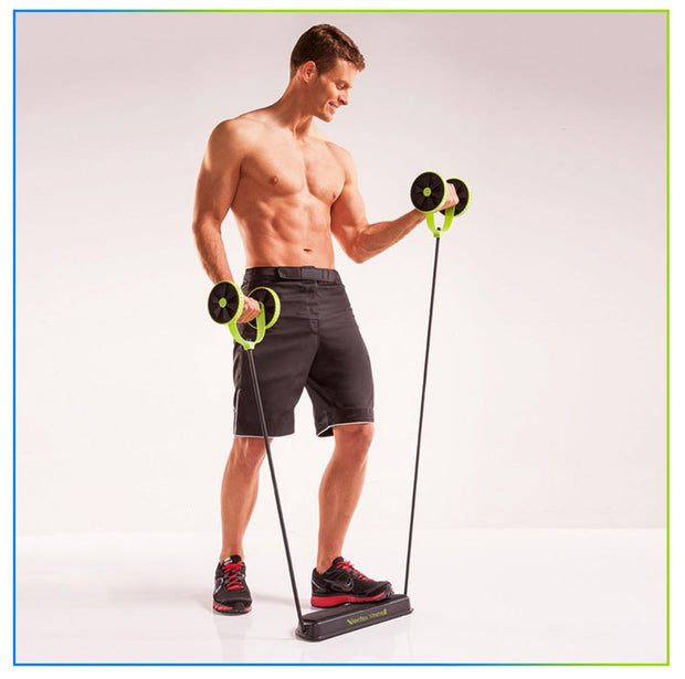 Abdominal Resistance Pull Rope Tool