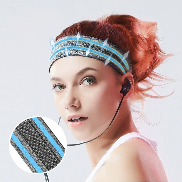 Elastic Sports Sweat Band