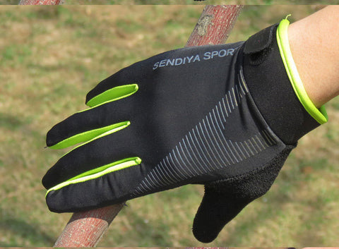 Full Finger Touchscreen Bike Gloves - Biking Cycling Protective Gloves