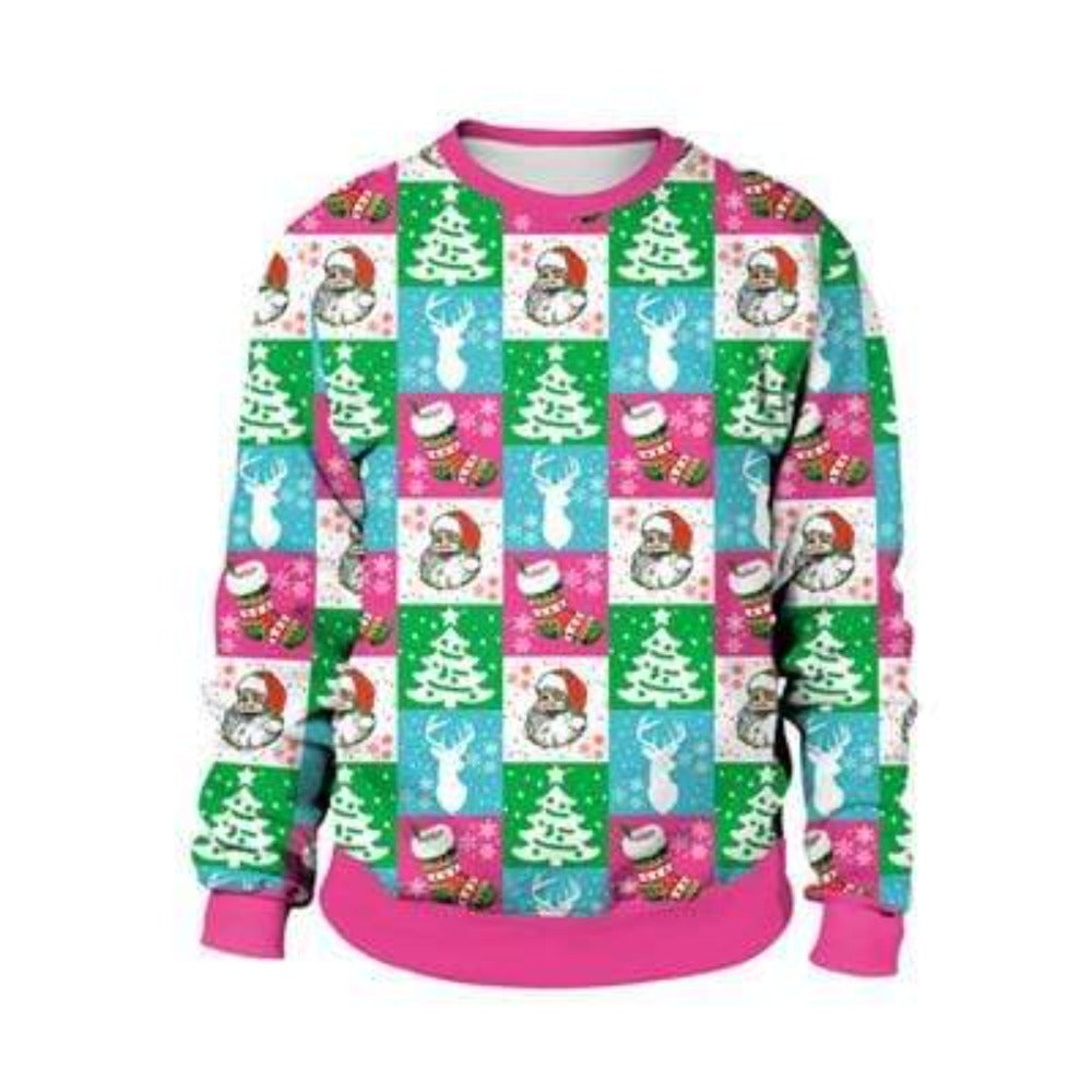 womens llama sweater  ugly sweater  ugly christmas sweater  snowman sweaters  snowman christmas sweater  santa sweaters  santa christmas sweater  reindeer sweaters  reindeer christmas sweater  long sleeved sweater 2020  long sleeved sweater  llama sweaters  llama christmas sweater  good christmas gifts for girlfriend  gift ideas for her  Digital Printed sweater  cute snowman sweater  cute santa sweater  cute reindeer sweater  cute christmas sweater  cute animal sweater